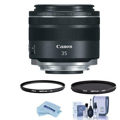 Canon RF 35mm f/1.8 Macro IS STM Lens - U.S.A. Warranty - With Hoya Filter Kit