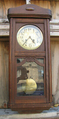 Antique German Wall Clock  LUCCA - 1920s.