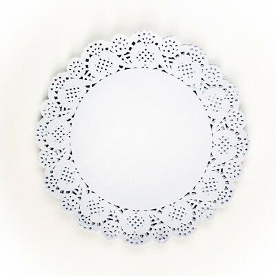 White Paper Doilies Approx 24cm For Plates Platters Cake Stands 40 Pack UK SLR