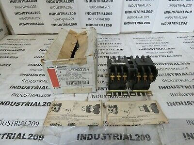 Cutler Hammer Purpose Contactor C65Dnd315 New In Box