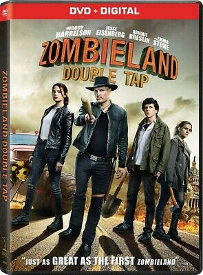Zombieland: Double Tap  DVD 2019 BRAND NEW FAST SHIPPING