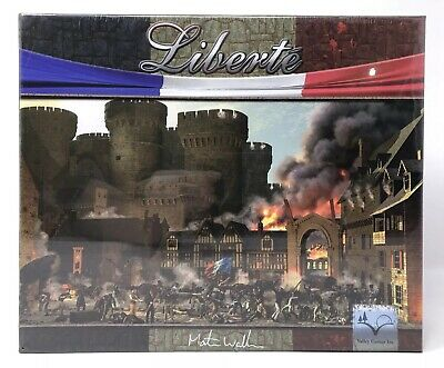 Liberte French Revolution Strategy Board Game Valley Game Inc New