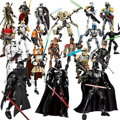 12'' Black Series Star Wars Action Figure Darth Vader Boba Fett Stormtrooper Toy
