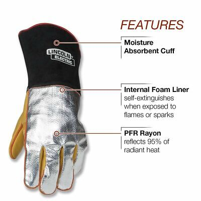 Lincoln Electric Heat Resistant  Welding Gloves K2982