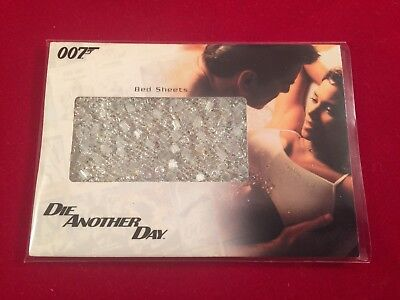 Die Another Day Bed Sheets Brosnan James Bond 007 Relic Card Halle Berry