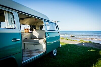 VW T2 Bay Camper Hire From Just £79 per night | Yorkshire Based