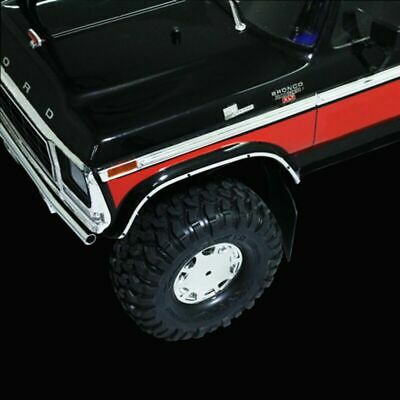 Front Windshield Strip Side Rear Window Frame For TRAXXAS TRX4 FORD BRONCO Truck