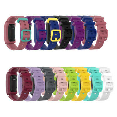 Silicone Child Watch Band Strap Replacement for Fitbit Ace 2/Inspire/Inspire HR