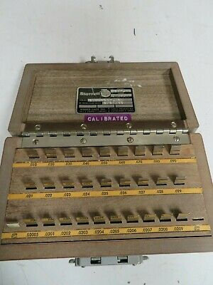 Do-ALL 28-lm 28 piece, Rect., Steel , English Gage Block Set  - NS32