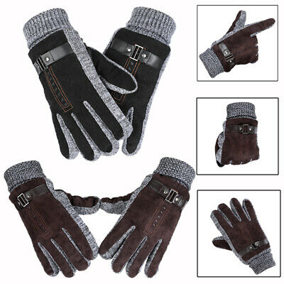 Men Women Ski Gloves Snowboard Motorcycle Riding Winter Windproof Skiing Glove