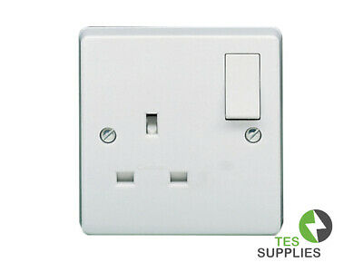 """Crabtree Capitol 4827 white 13A DP Fused Switched Connection Unit /""""Pump/"""""""