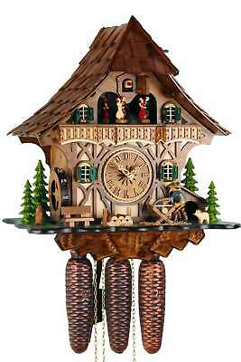 Timbered House 35cm- Cuckoo Clock Original Black Forest Cuckoo Clock Real