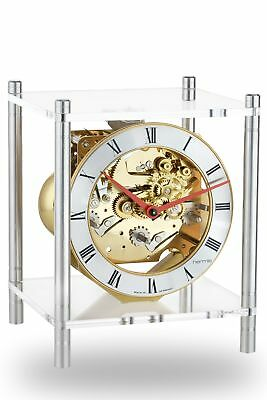 Hermle -brass 20cm- 23034-X40340 High Quality Analog Table Clock With