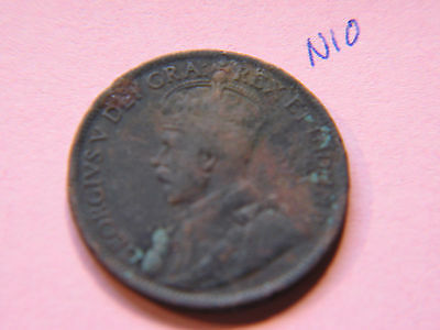 1916 Canada Large Cent Coin , Canadian One Cent