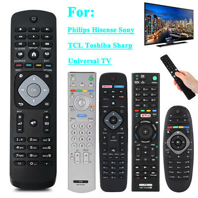 Universal TV Remote Control Controller for Sony Sharp Philips TCL Toshiba SEIKI