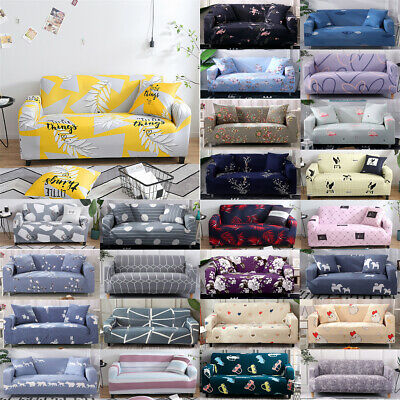 Stretch Fit Sofa Cover Lounge Couch Removable Slipcover Washable 1/2/3/4 Seater