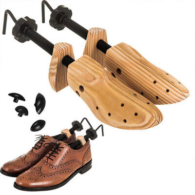 One Pair Wooden Shoe Stretcher Adjustable Size 5-10 For Men Women