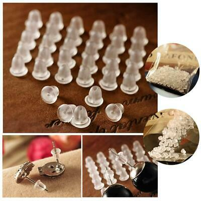 New 4MM Rubber Earring Back Stoppers Ear Post Nuts Jewelry Making 500PCS Lots CH