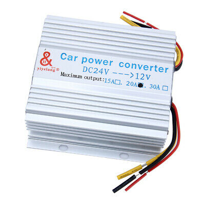 Car Charger Converter 24V to 12V 20A 240W DC-DC Buck Step Down Module