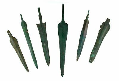 *Sc*Large Lot Of Near Eastern Bronze Daggers & Lances, 1200-400 Bc!