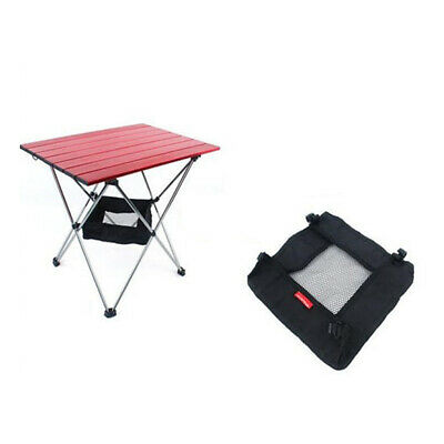 Camping Folding Table Storage Grid Outdoor Picnic Dining Stuff Storage Bag