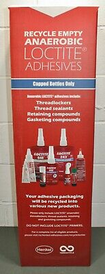Henkel Loctite Large Recycling Box 2076401, Anaerobic Adhesives Capped Bottles