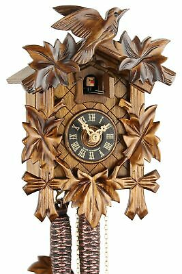 Eble -fünflaub 23cm- 20-01-12-10 Cuckoo Clock Original Black Forest E