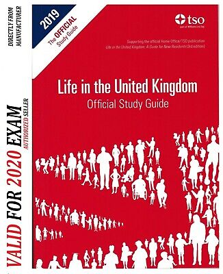 Life in the UK Official Study Guide, 2019 Edition (Li... by TSO (The Stationery
