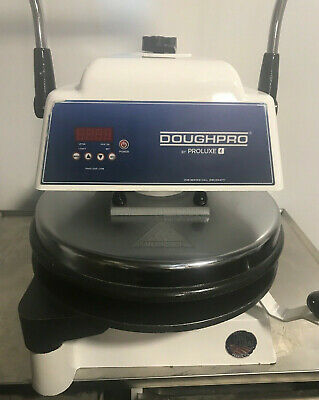 Heated Dough Press DoughPro DP1100 DP1100TA  Pizza Tortilla Machine  2017
