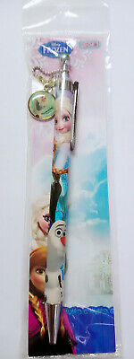 Disney Frozen Color Holographic Jazz Metal Click Pen Choice of OLAF ELSA or ANNA
