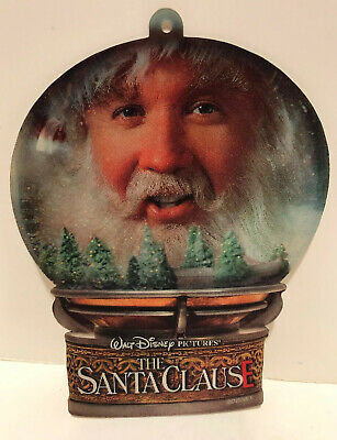 The Santa Clause  3d Movie Promo Ornament Tim Allen Disney HTF promo