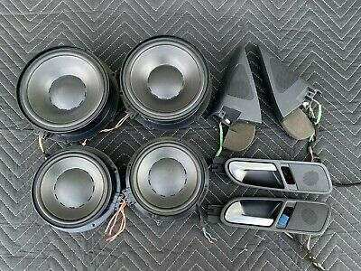 2008-2011 Volkswagen Tiguan OEM Dynaudio High Performance Sound Speakers Set
