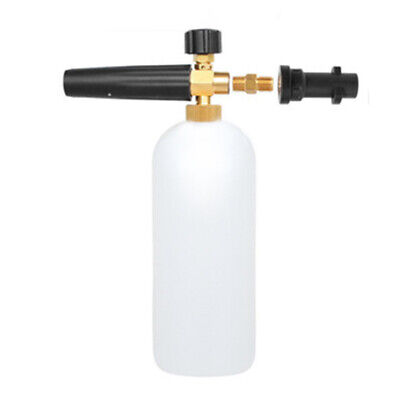 1L Snow Foam Lance Water Bottle Power High Pressure Washer Spray Nozzle Gracious