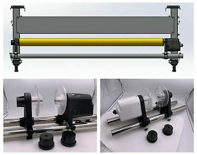 "Auto Media Take-up Reel Roller System for Mimaki 54"" 64"" 74"" Wide Format Printer"