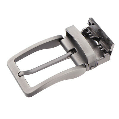 Polished Belt Buckle Single Prong Buckle Replacement for Leather Strap Silver