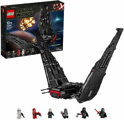 LEGO 75256 Star Wars Kylo Ren'S Shuttle Starship Construction Set With 2 Spring
