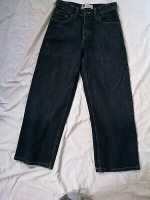 Gap Boys Age 10 D Blue super Loose Fit Jeans Adjustable Waist BNWT VGC w26 L26