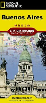Buenos Aires City Destintation Map and Travel Guide 9781566957724 | Brand New