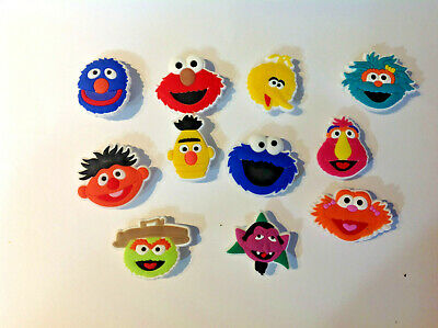 Sesame Street PVC Shoe Charms for your Crocs and Jibbitz