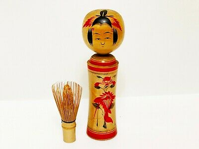 Kokeshi antique wooden doll japan (6007)