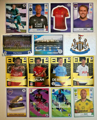 Panini Football 2020 Premier League Sticker Collection # 251 - 462 2019/20