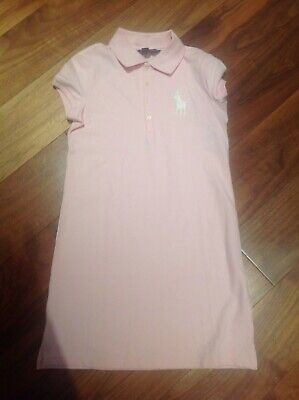 Girls pink Ralph Lauren summer dress age 8-10 years - new with tags