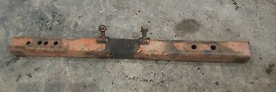 Allis Chalmers B Tractor Cross Bar Footrest Fender Support bolts complete AC C