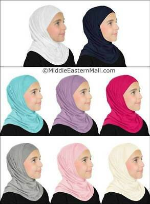 Lot of 8 Two Piece Girl Hijab fashion Children Back to school Kids  Hijabs