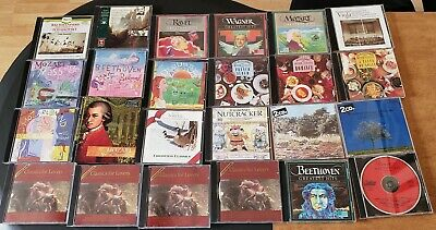 Lot of 16 Classical Music CDs All in Great Condition Mozart, Ravel, Beethoven