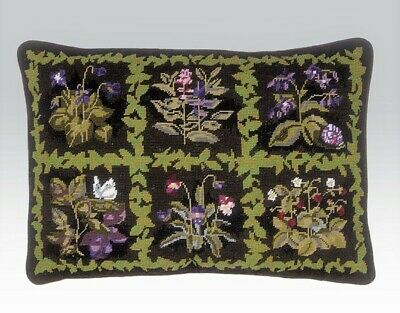 EHRMAN HERBAL SQUARES by MARGARET MURTON discontinued NEEDLEPOINT TAPESTRY KIT