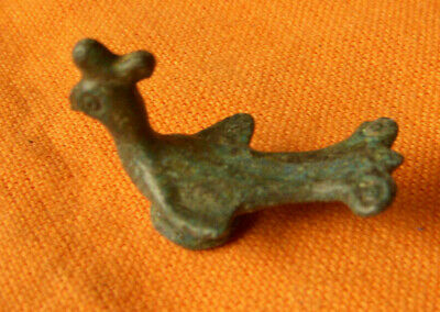 A68. Byzantine bronze small figure of bird