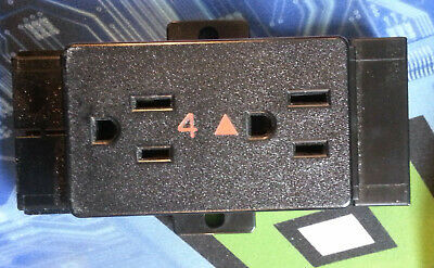 DRG Office Furnishings RC4 #4 Receptacle for MACSYS II Cubicles 120V 15A