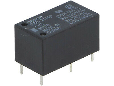 elettromagnetica; DPST-no; ucoil 1 x G2R-2A4 24VDC RELAY 24VDC; 4A//250VAC; 4A//30