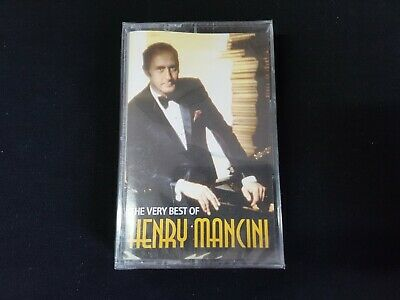Henry Mancini – The Very Best Of Henry Mancini AUDIO CASSETTE TAPE NEW SEALED